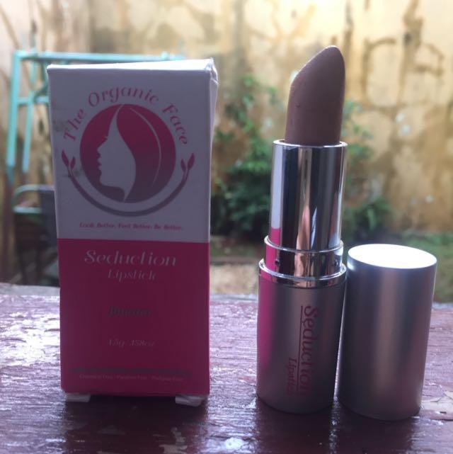 FREE ONGKIR Seduction Lipstick The Organic Face