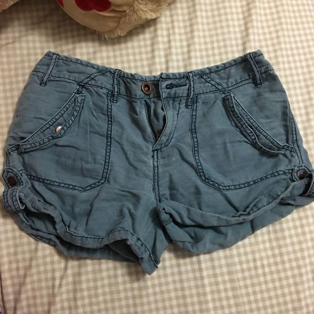 Free People Blue Shorts