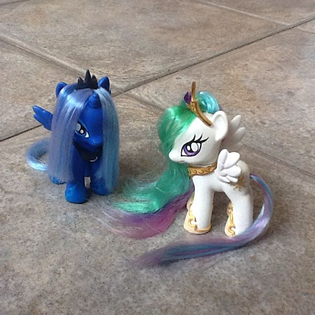 G4 My Little Pony Custom Princess Luna & Princess Celestia