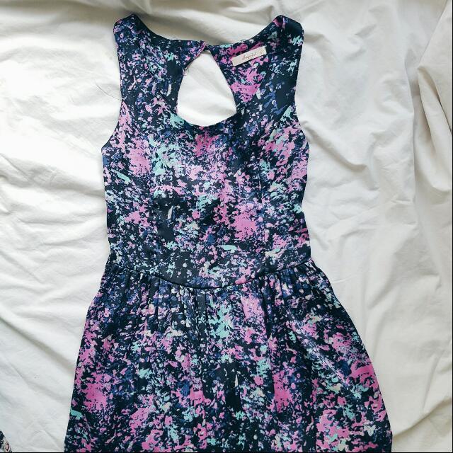 Galaxy Open Back Dress (8)