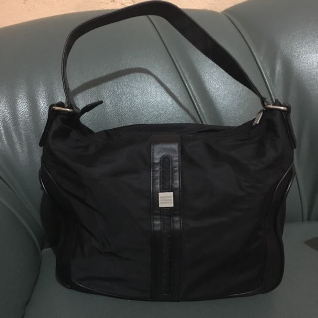 Girbaud Black Shoulder Bag