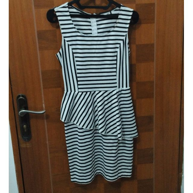 H&M Stripes Dress Preloved