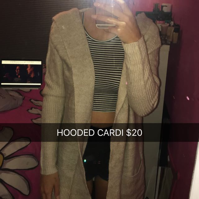 HOODED CARDI SMALL