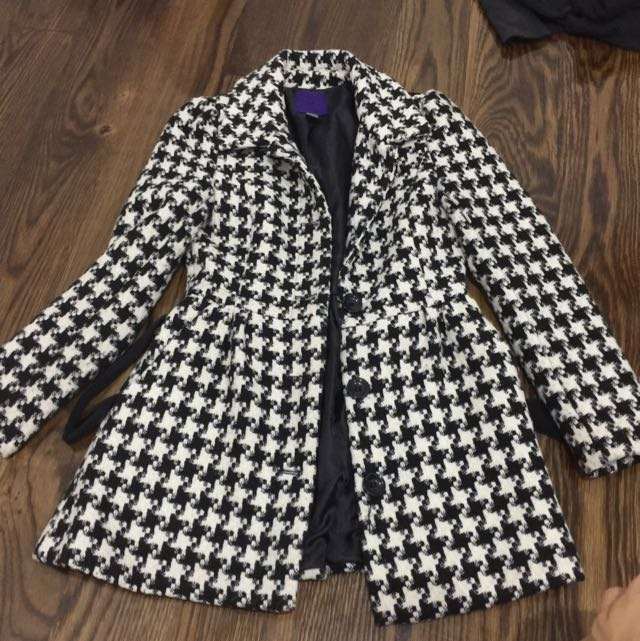 Houndstooth Winter Jacket