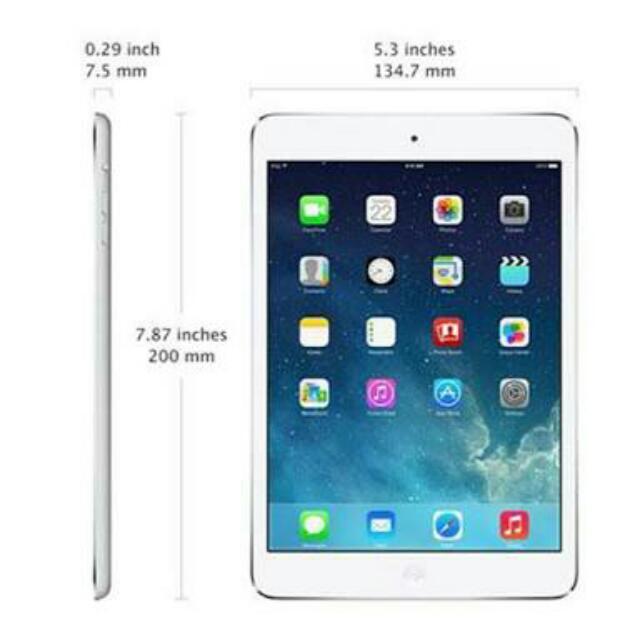5k Nlng Rushhh Ipad Mini Wifi Only 16gb White