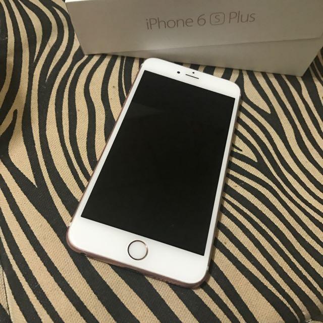 台積電版iPhone 6s Plus 64g 玫瑰金 有包膜