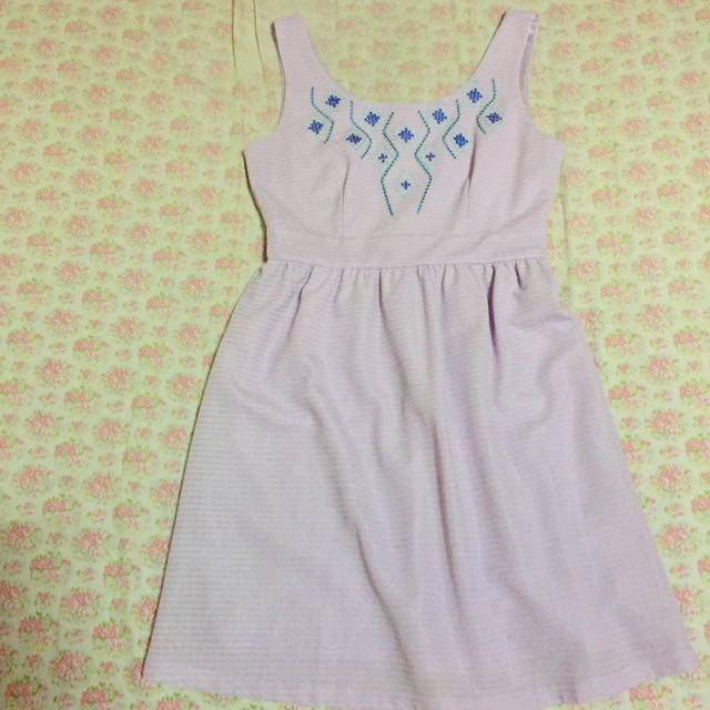 Jelly Bean Lavender Dress