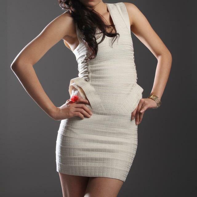 JLO Bandage Dress Brand Herve Leger