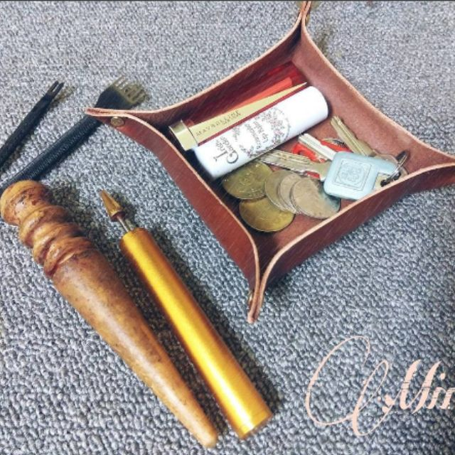 JMLeather✨客製化✨ 手工皮革置物盤