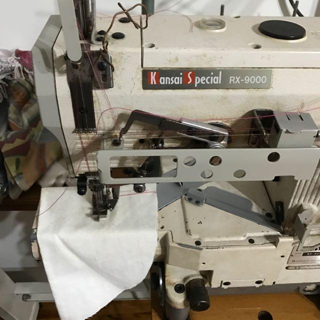 Kansai Special RX- 9000 Cover Stitch Sewing Machine 25377061922