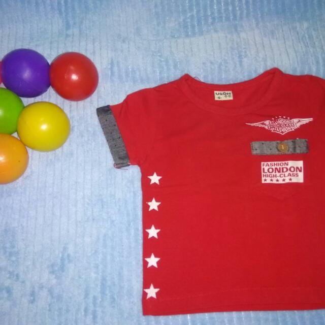 Kaos Anak Merah