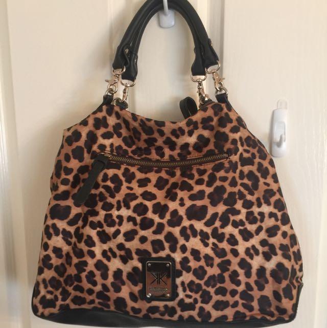 Kardashian Kollection Animal Print Bag