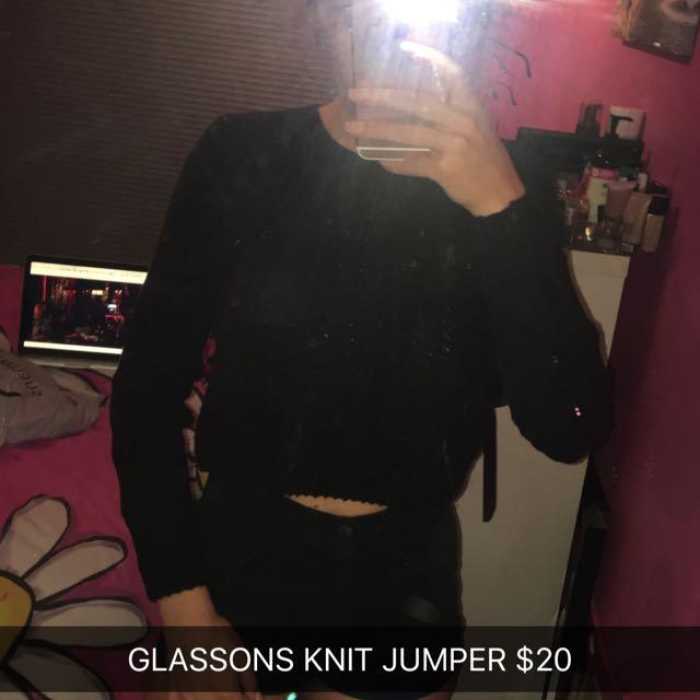 KNIT JUMPER SMALL