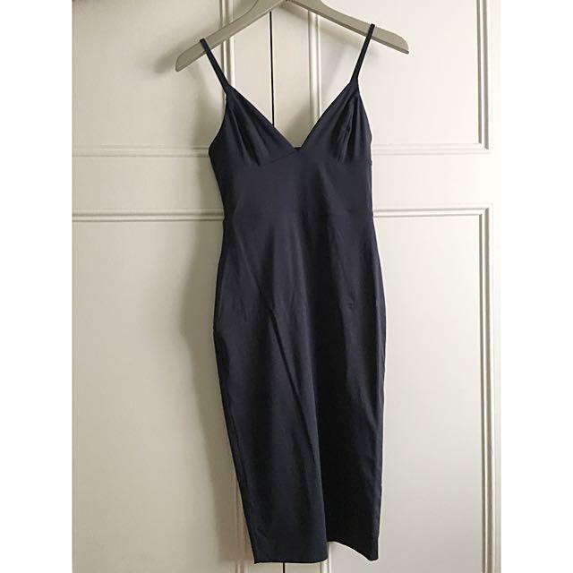 Kookai Navy Midi Dress