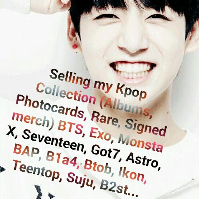 Kpop Merchandise (Albums, Photocards, Rare & Signed Merch)