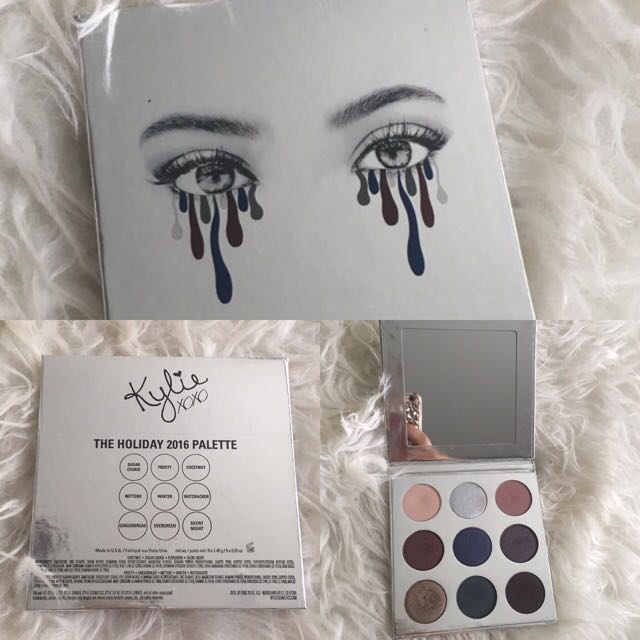 Kylie Cosmetics Holiday Edition KyShadow Palette