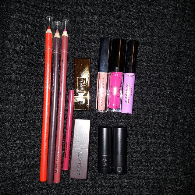 Lipsticks And Lipliners