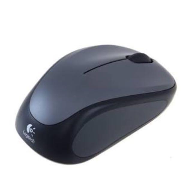 Logitech Wireless Mouse M235- Black