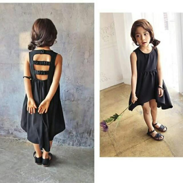 Long Back Dress For Kids Womens Fashion Clothes Dresses Skirts