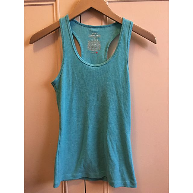 Lorna Jane Blue Exercise Top