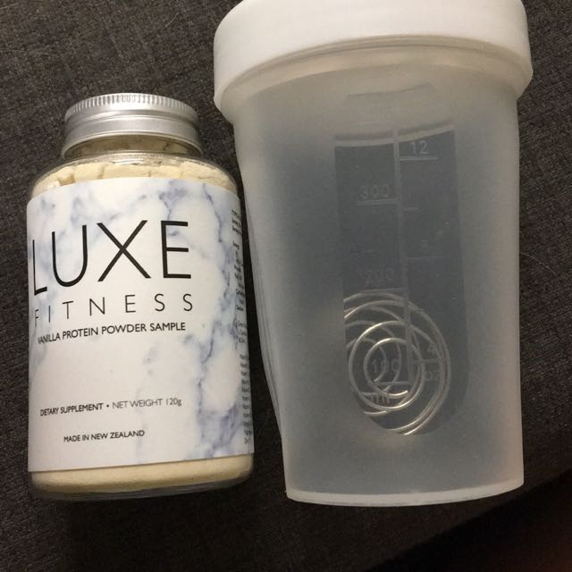 Luxe Fitness Protein And Protein Shaker