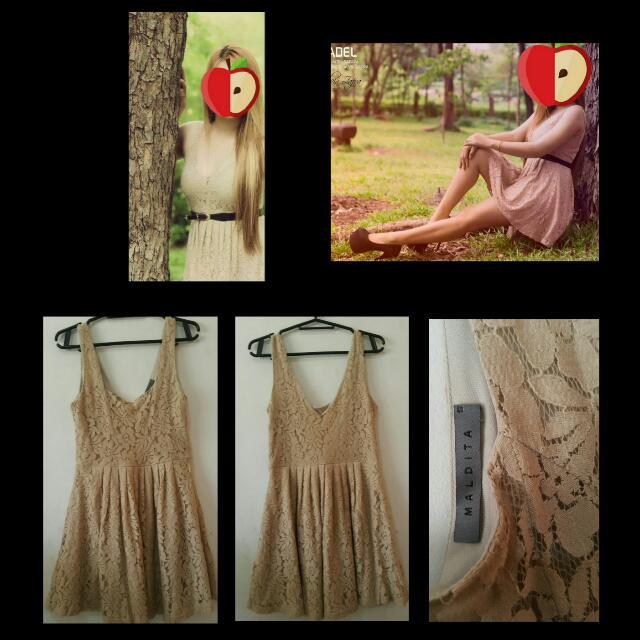 Maldita Nude Dress