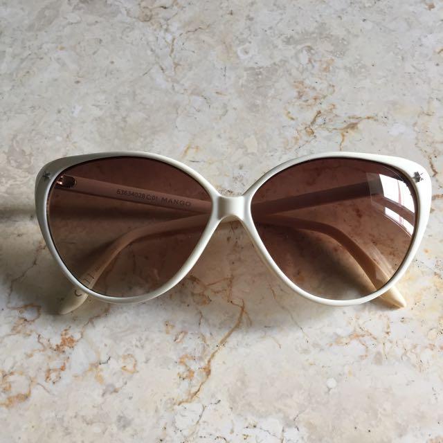 Mango Cat Eye Sunglasses