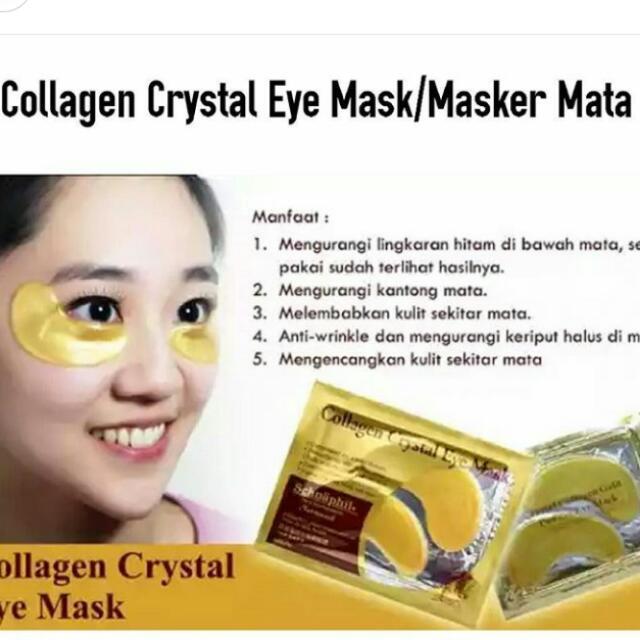 Masker Mataa Collagen