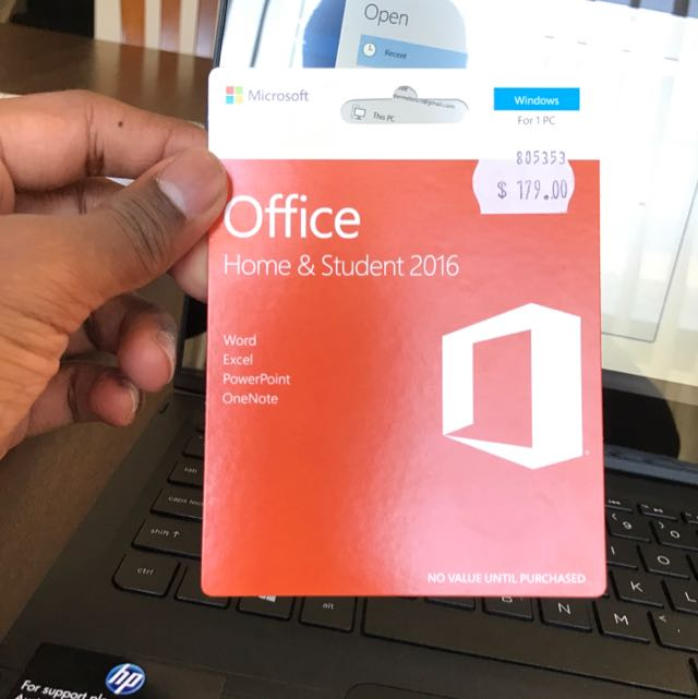 microsoft office home and student 2016 australia