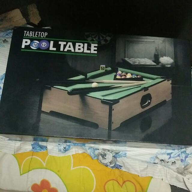 Mini Pool Table JUAL CEPAT