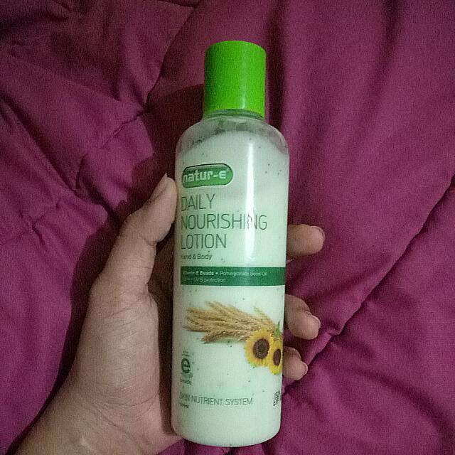nature e daily nourishing lotion