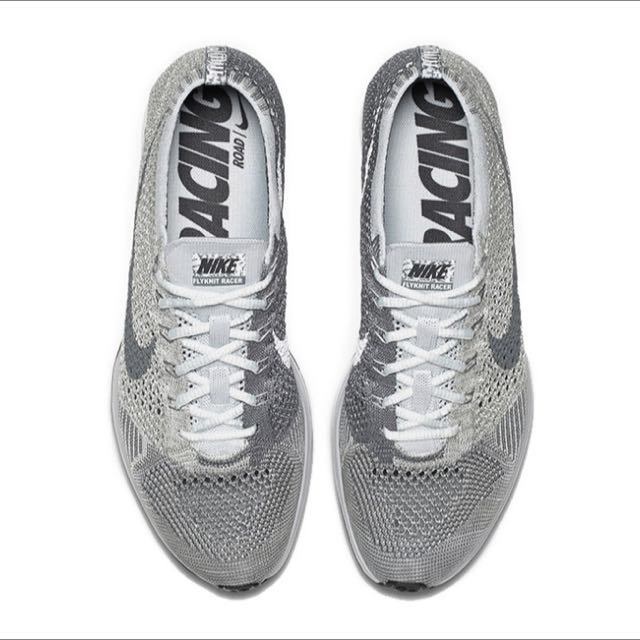 73a72944744aa3 Nike Flyknit Racer Pure Platinum