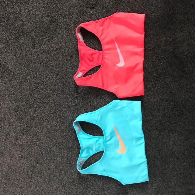 Nike Sports Bras.