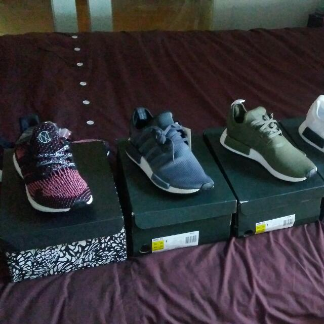 Nmds All Size 10.5 Ultra boost CNY 9.5