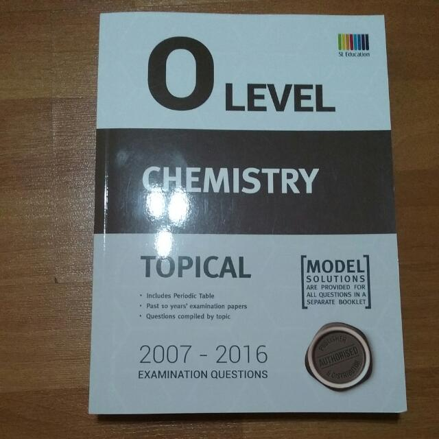 O level chemistry topical examination questions 2007 2016 books photo photo photo photo urtaz Images