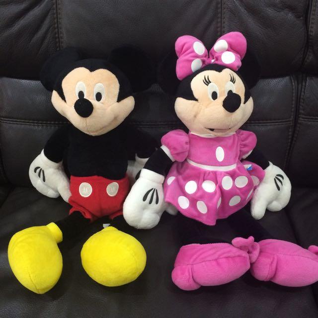 Original Mickey Miney Soft Toys
