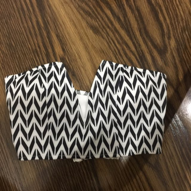 Pattern Crop Top