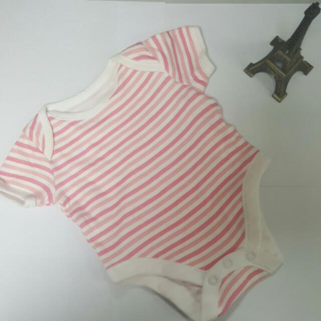 Pink Onesie Newborn to 1 Month