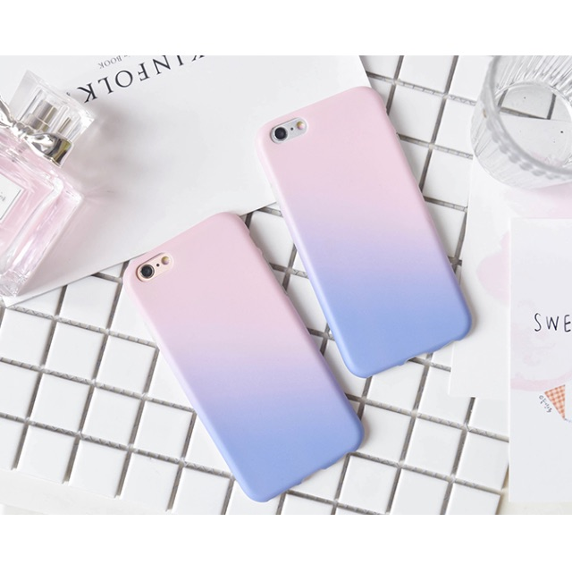 quality design e114b 6d2b2 Abstract Ombre Pantone Rose Quartz and Serenity iPhone Case