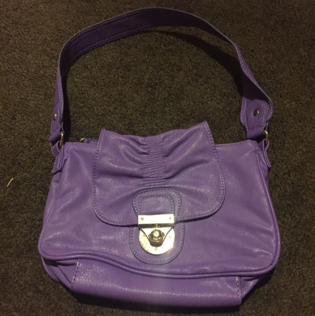Purple Xcesri Handbag