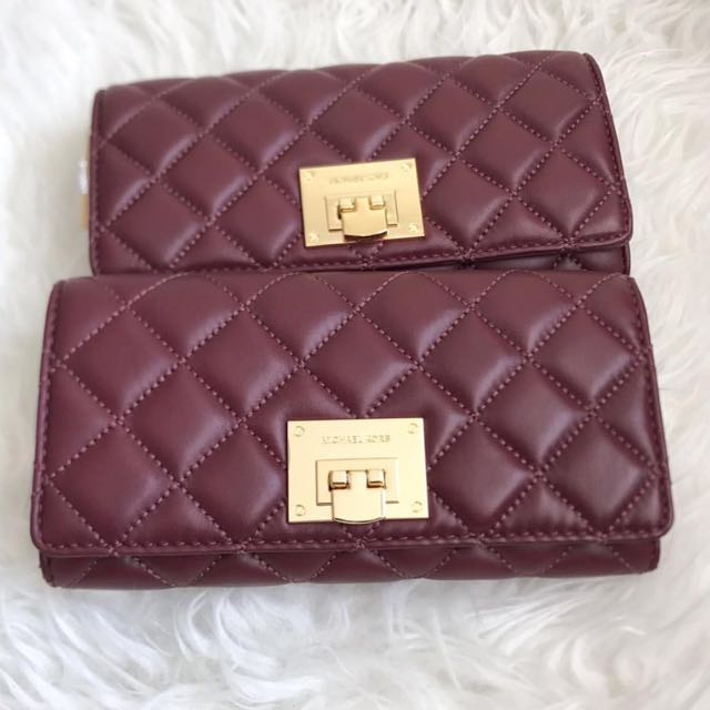 70828f7f5af6 Ready Stock💠Authentic Michael Kors Astrid wallet carryall