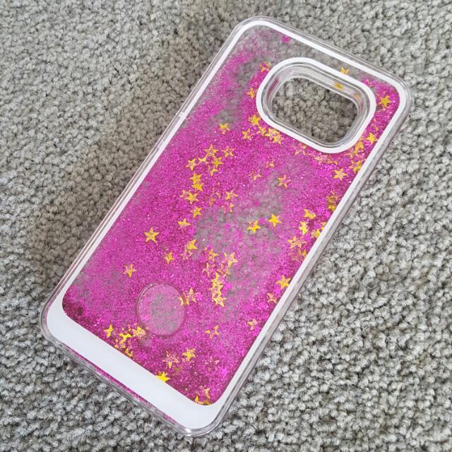 Samsung Galaxy S6 Glittery Phone Case Cover