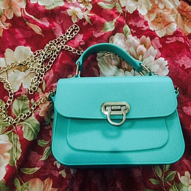 Silicon Mint Green Bag