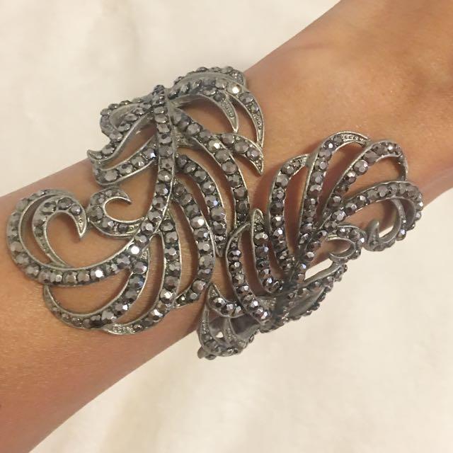 Silver Statement Bracelet