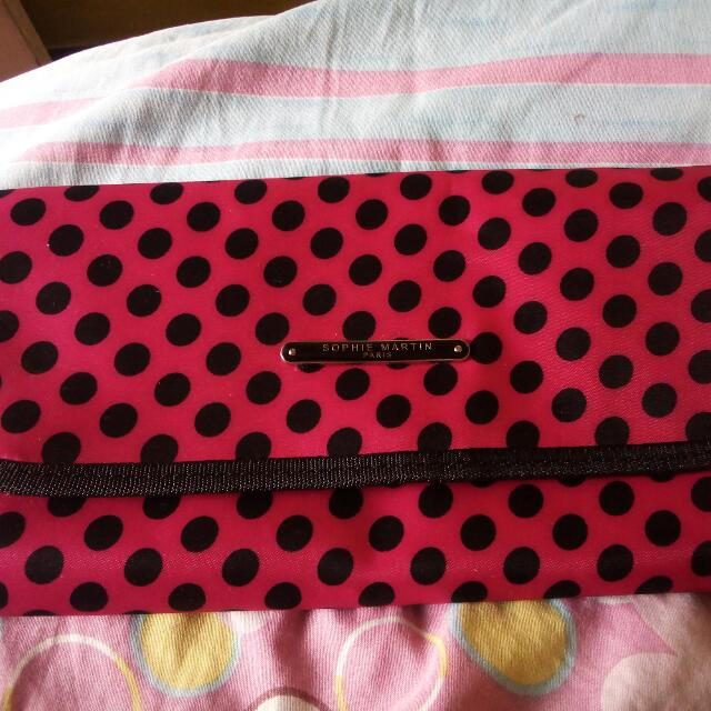 SOPHIE MARTIN PINK POUCH