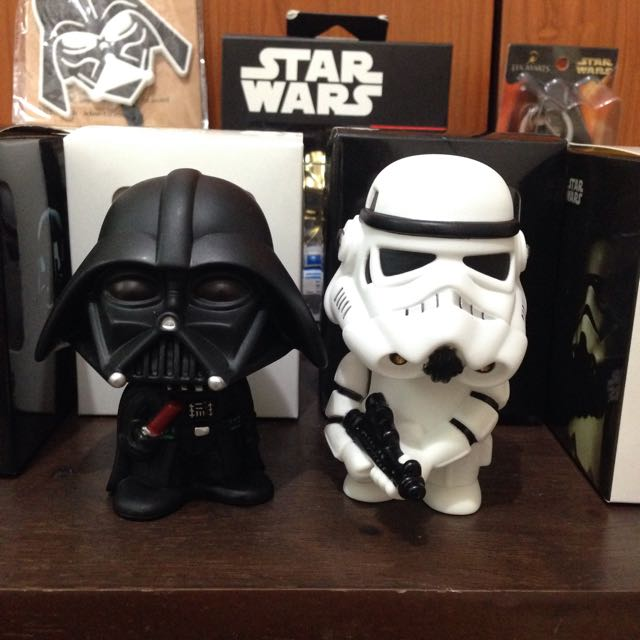 Star Wars Darth Vader And Stormtrooper Wobbler