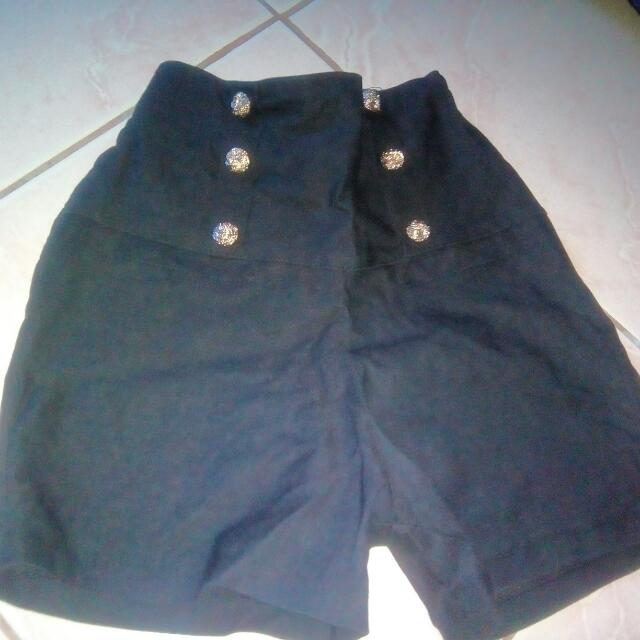 stretchable highwaist short P180+50 for shipping fee mnla area