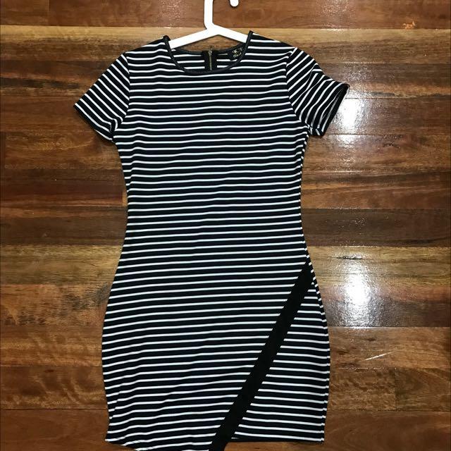 Striped Body on dress