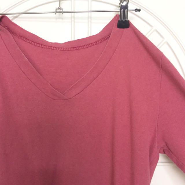 粉紅長袖T