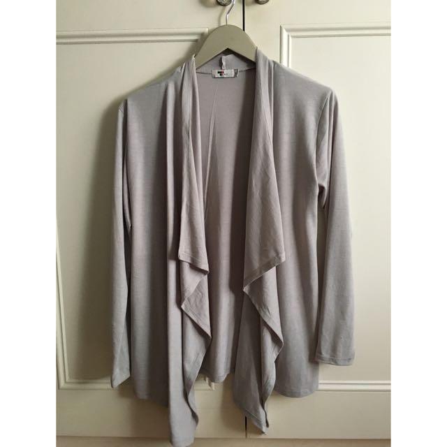 Tempt Grey Cardigan